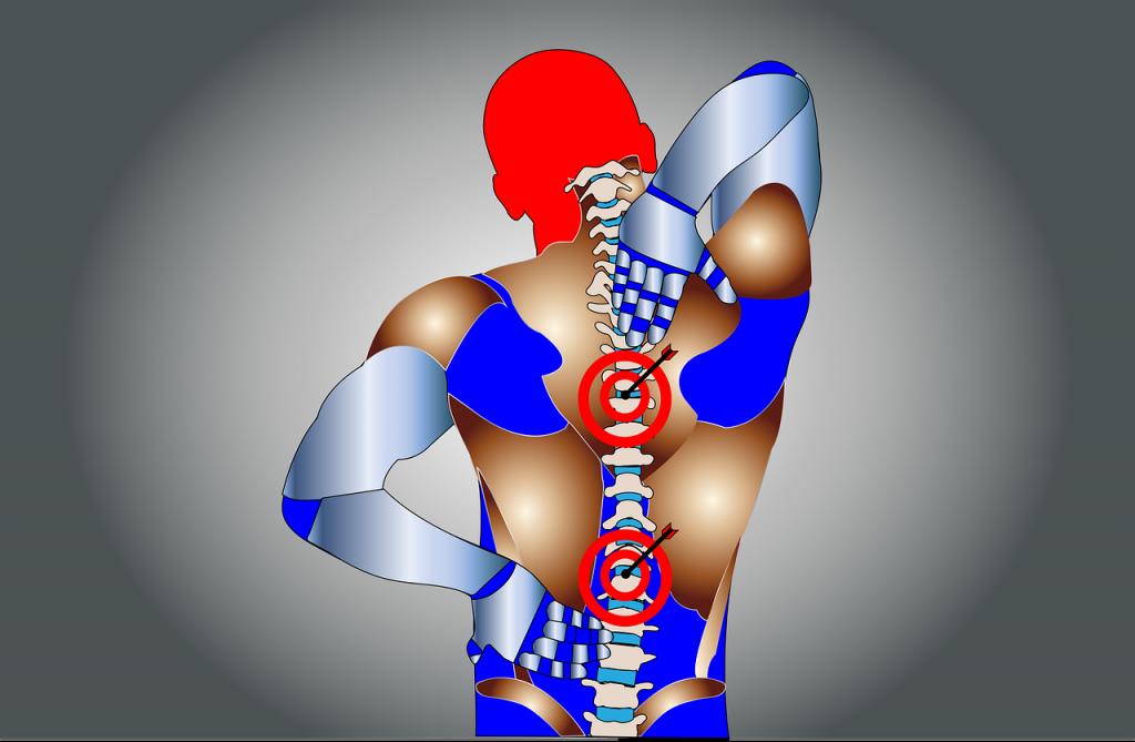 back pain body brace posture